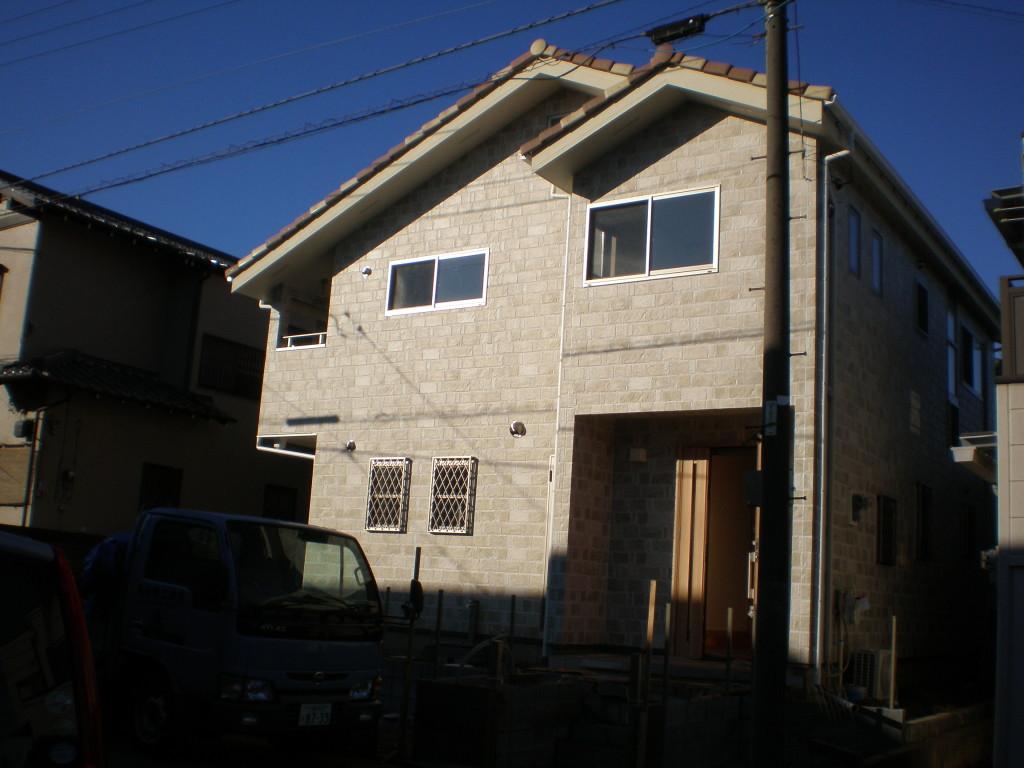 新築木造一戸建ての施工例(K様邸)